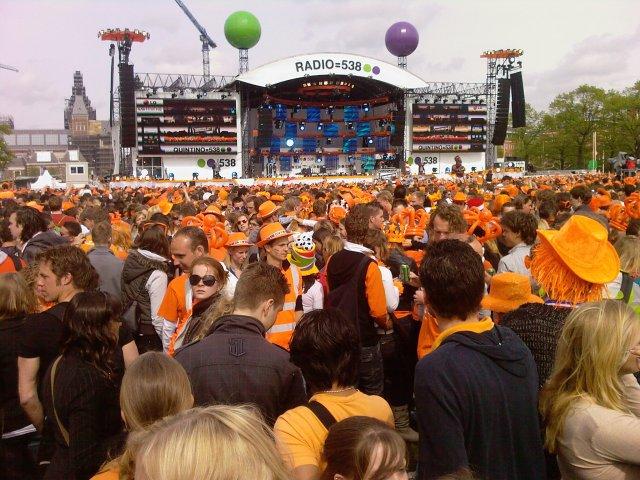 Koninginnedag 2010 Amsterdam